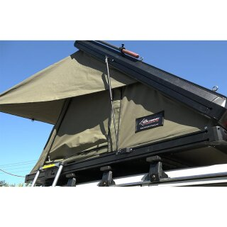 The Bush Company ALPHA Clamshell roof top tent