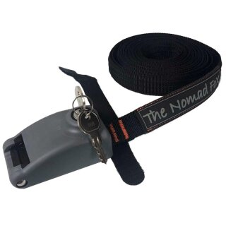 Locking and Cabled Tie Down Strap (5m)